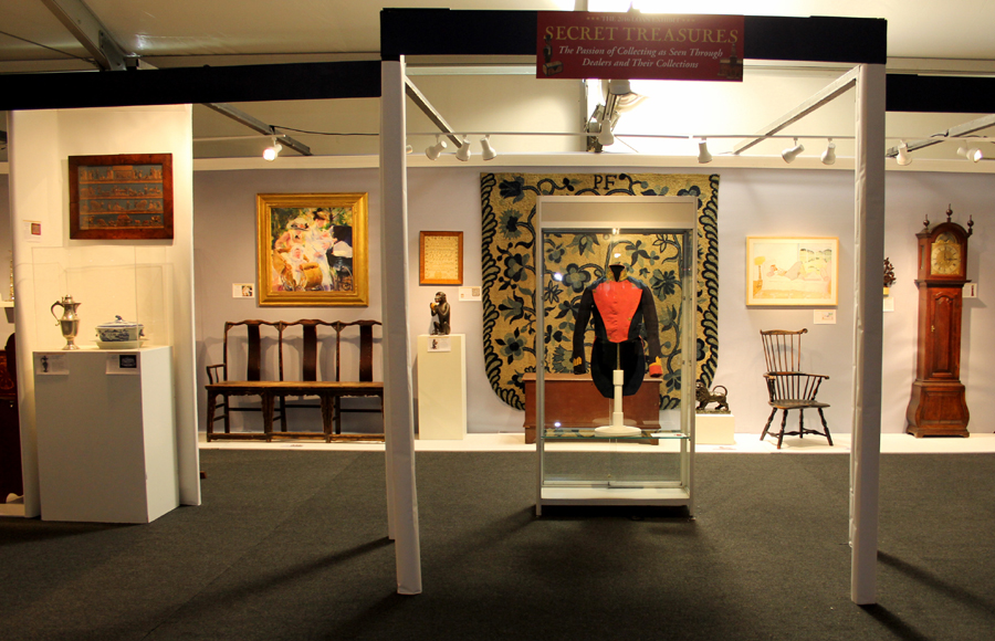 "Organized by Edwin Hild and Nancy Taylor, the loan show ""Secret Treasures"" offered a thoughtful, entertaining introduction to the show's 58 exhibitors."
