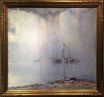 """God's Mirror"" by John C. Huffington (1864–1929)."