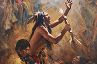 Howard Terpning At The Rockwell Museum