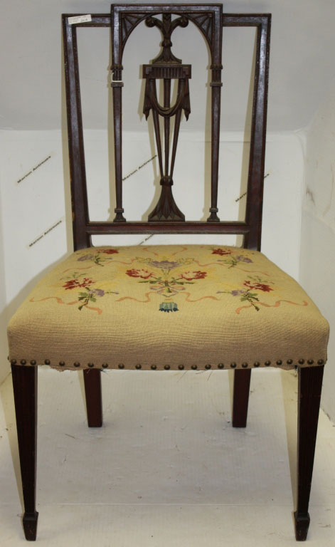 8-19 Marion Auction - Lot 20A Side chair