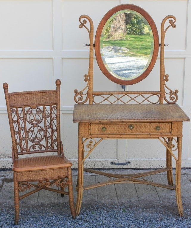 8-19 Marion Auction - Lot 75 Wicker