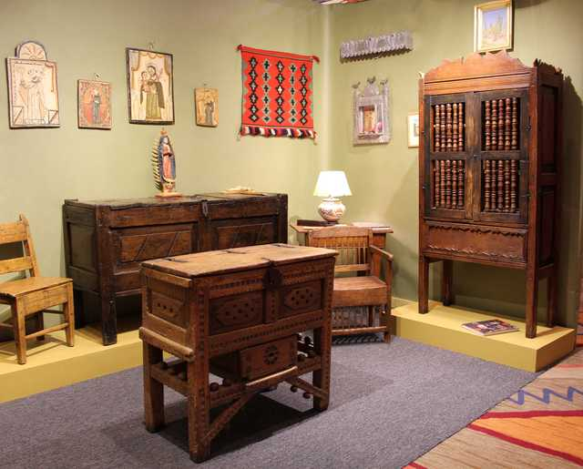Early New Mexican Furniture Formerly In The Collection Of Taos Doyenne  Mabel Dodge Luhan Was A Highlight At Coulter Brooks Art And Antiques, Santa  Fe, N.M.
