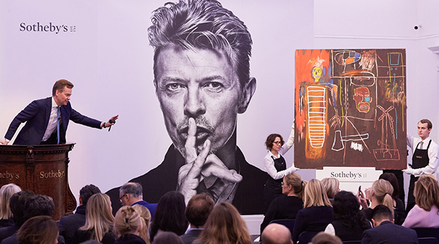 David Bowie's art collection sold for more than £24M at London auction