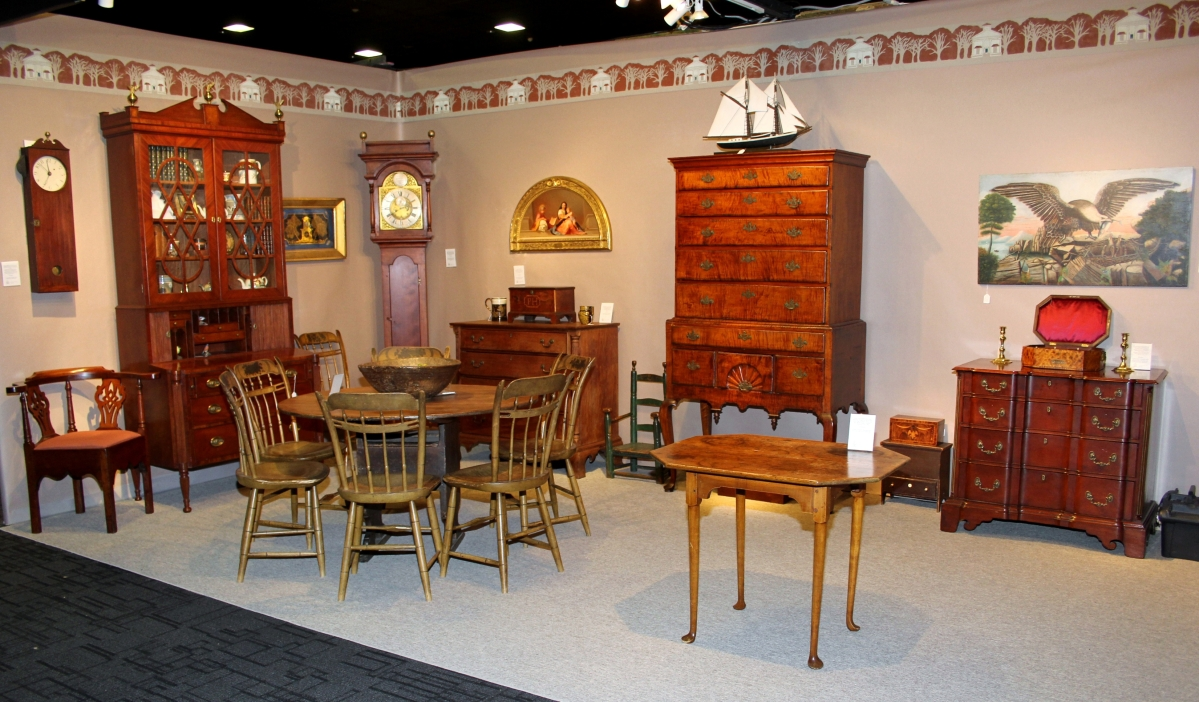 Pennsylvania House Dining Room Table The Delaware Antiques Show An Americana Powerhouse