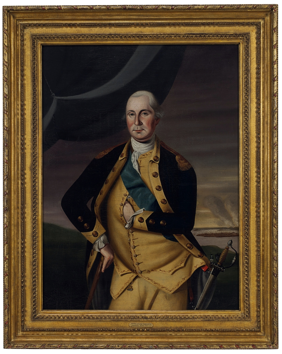 """""""George Washington at Bunker Hill"""" by Samuel King is part of the J. Altmayer family collection, Palmetto Hall, at Christie's on January 19."""