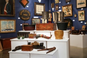 Fine objects, baskets, boxes and more at The Norwoods' Spirit of America, Timonium, Md.