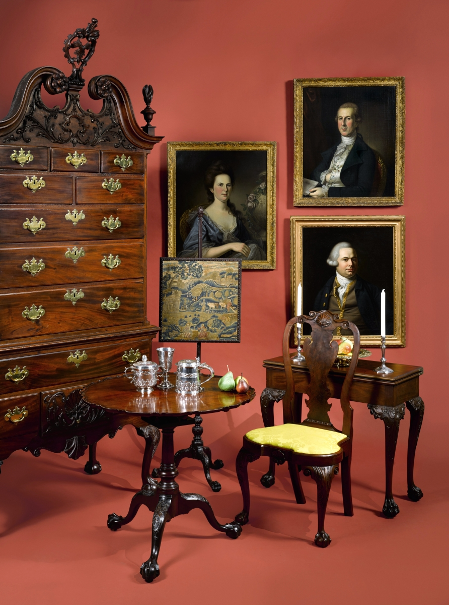 Sotheby's is featuring an important collection of American furniture assembled by George S. Parker II from the Caxambas Foundation on January 19.