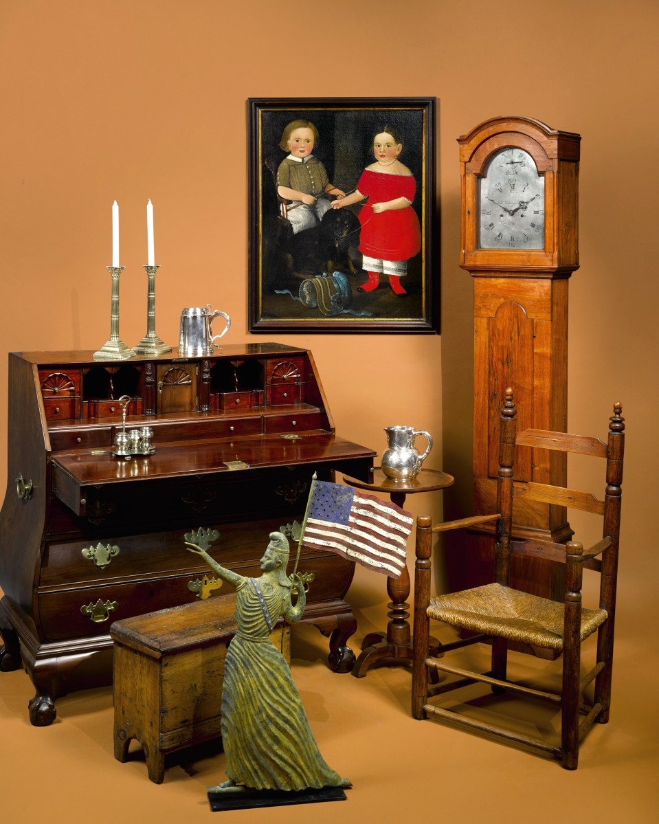 Sotheby's two-session various-owners Americana sale is set for January 21–21.