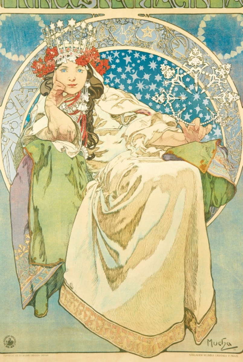 Swann Galleries is offering Art Nouveau posters by Alphonse Mucha and his contemporaries on January 26.