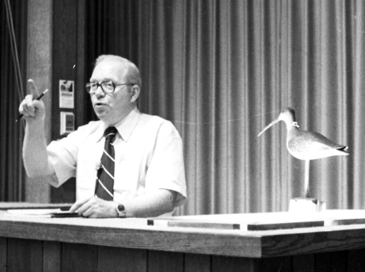 Collector Bill Mackey and dealer Wally Furman encouraged Bourne to introduce specialized decoy sales in 1967. Studded with record prices, they became thrice-annual affairs.
