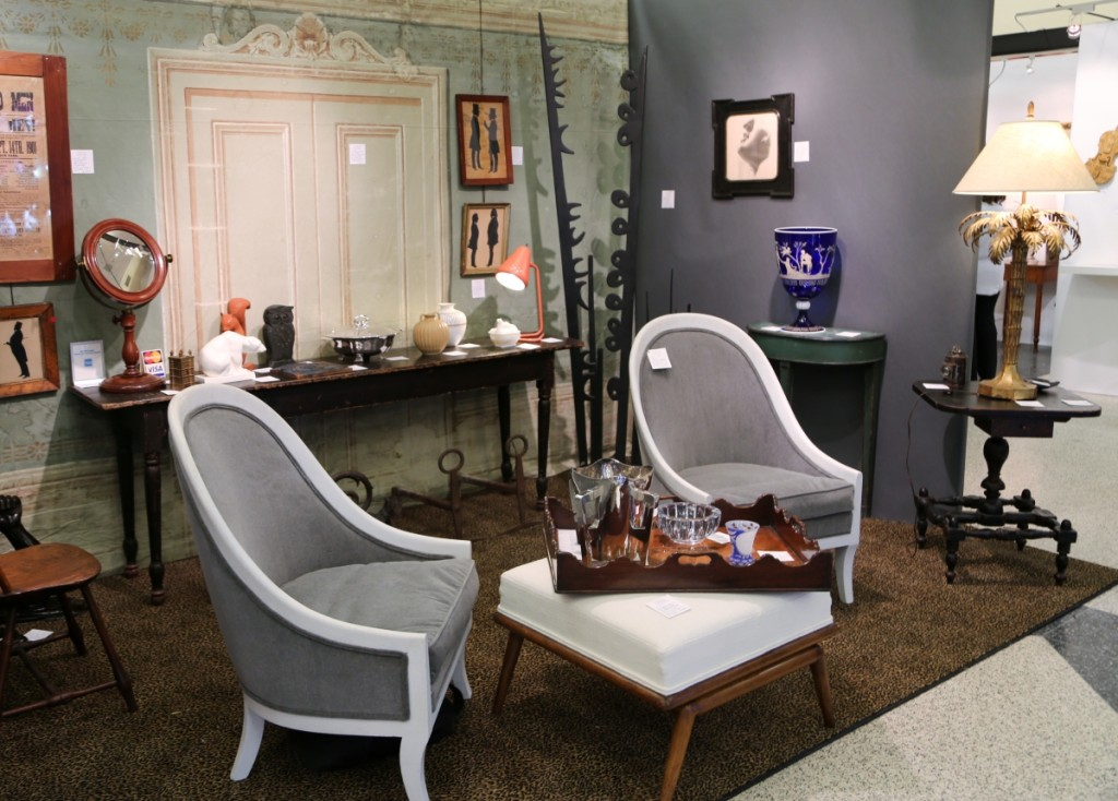 A mix of pieces from the Eighteenth to the Twentieth Centuries at Andrew Spindler Antiques, Essex, Mass.