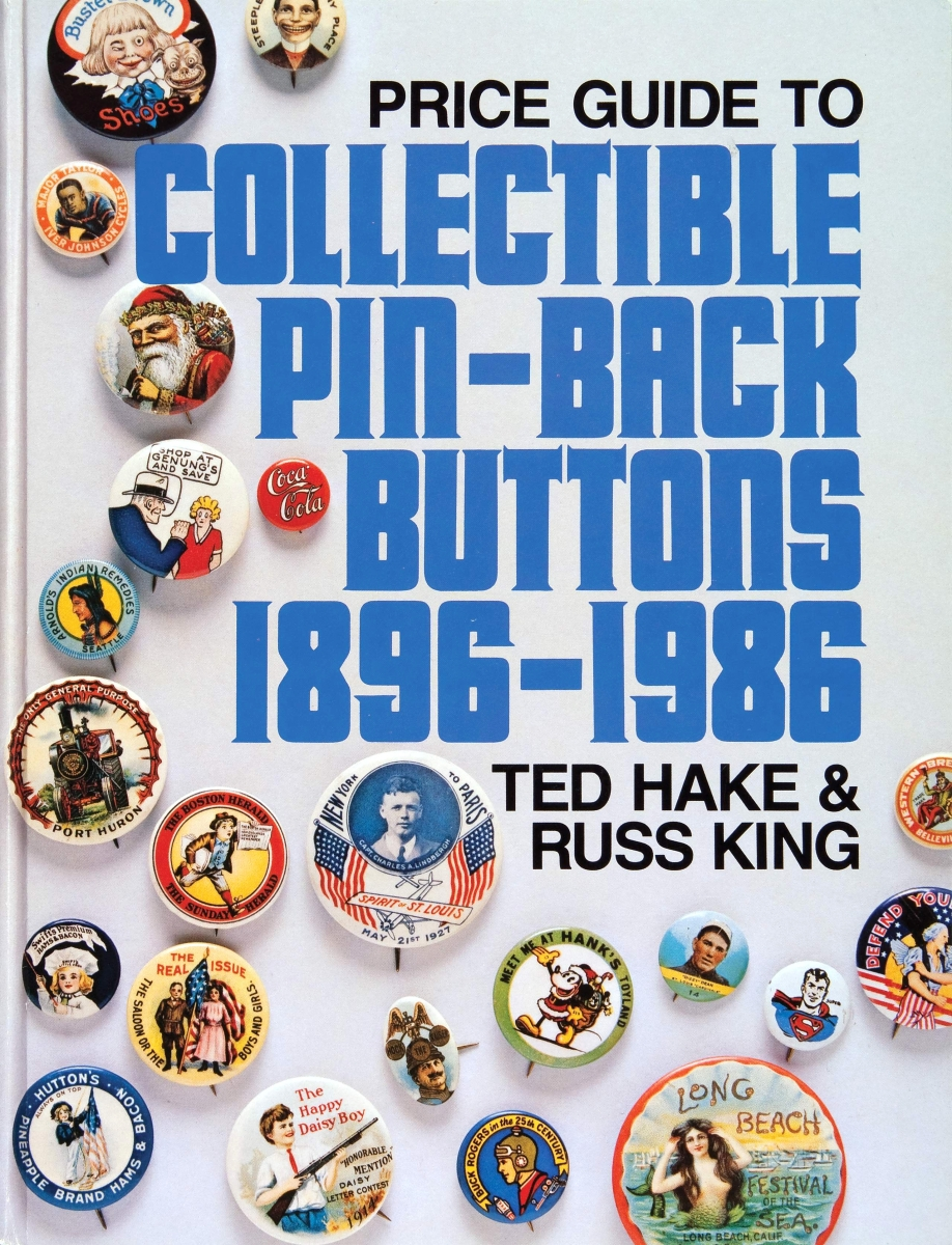 In 1974, Ted purchased the button collection assembled by Joseph Stone of Toledo, Ohio, who began collecting as a boy in 1921. Joe's collection ultimately exceeded 50,000 different examples and became a large part of Ted's book Collectible Pin-Back Buttons 1896–1986.