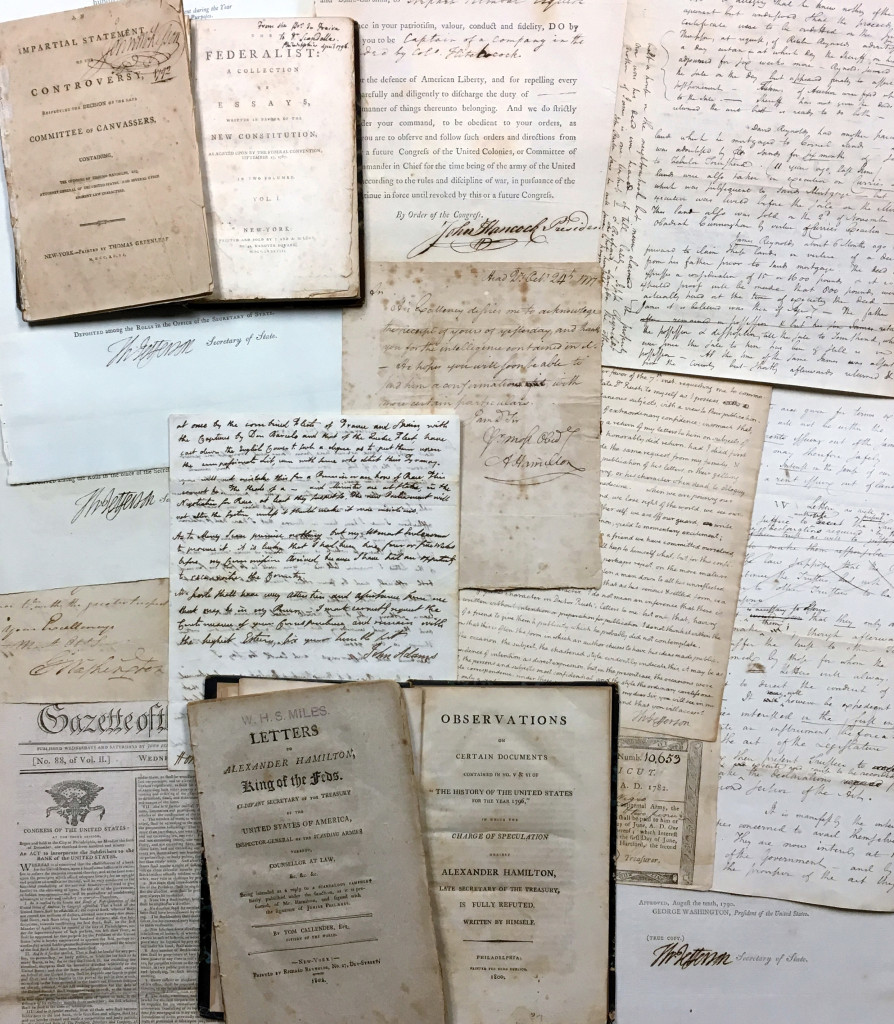 Seth Kaller and John Reznikoff have assembled more than a thousand letters and documents pertaining to Alexander Hamilton.