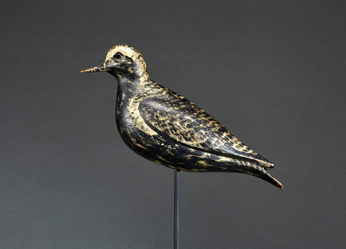 "Charles Sumner Bunn or William ""Bill"" Bowman (1865–1952 and 1824–1906), the McCleery Bunn/Bowman Golden Plover, circa 1900, realized $69,000."