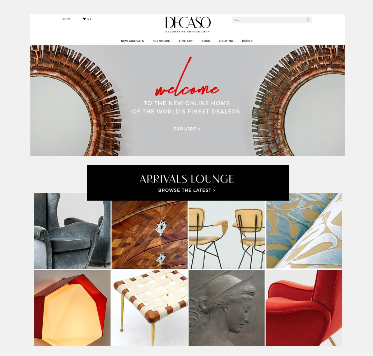 More 32,000 listings can be found on DECASO, all of the them from trusted and experienced dealers. The new platform aims to amplify high end goods to the interior design trade.