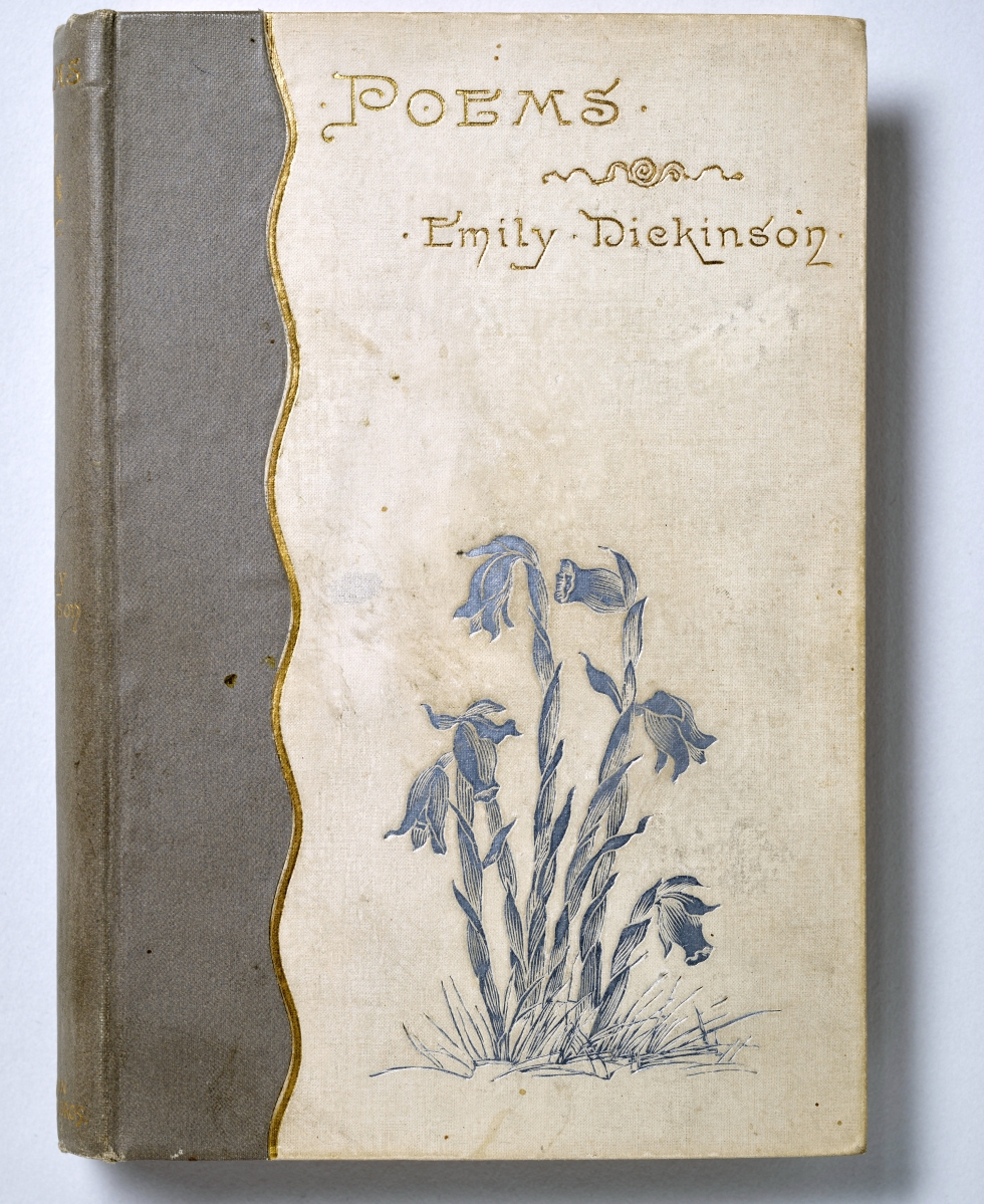 Poems by Emily Dickinson, Boston: Roberts Brothers, 1890. Amherst College Archives & Special Collections.