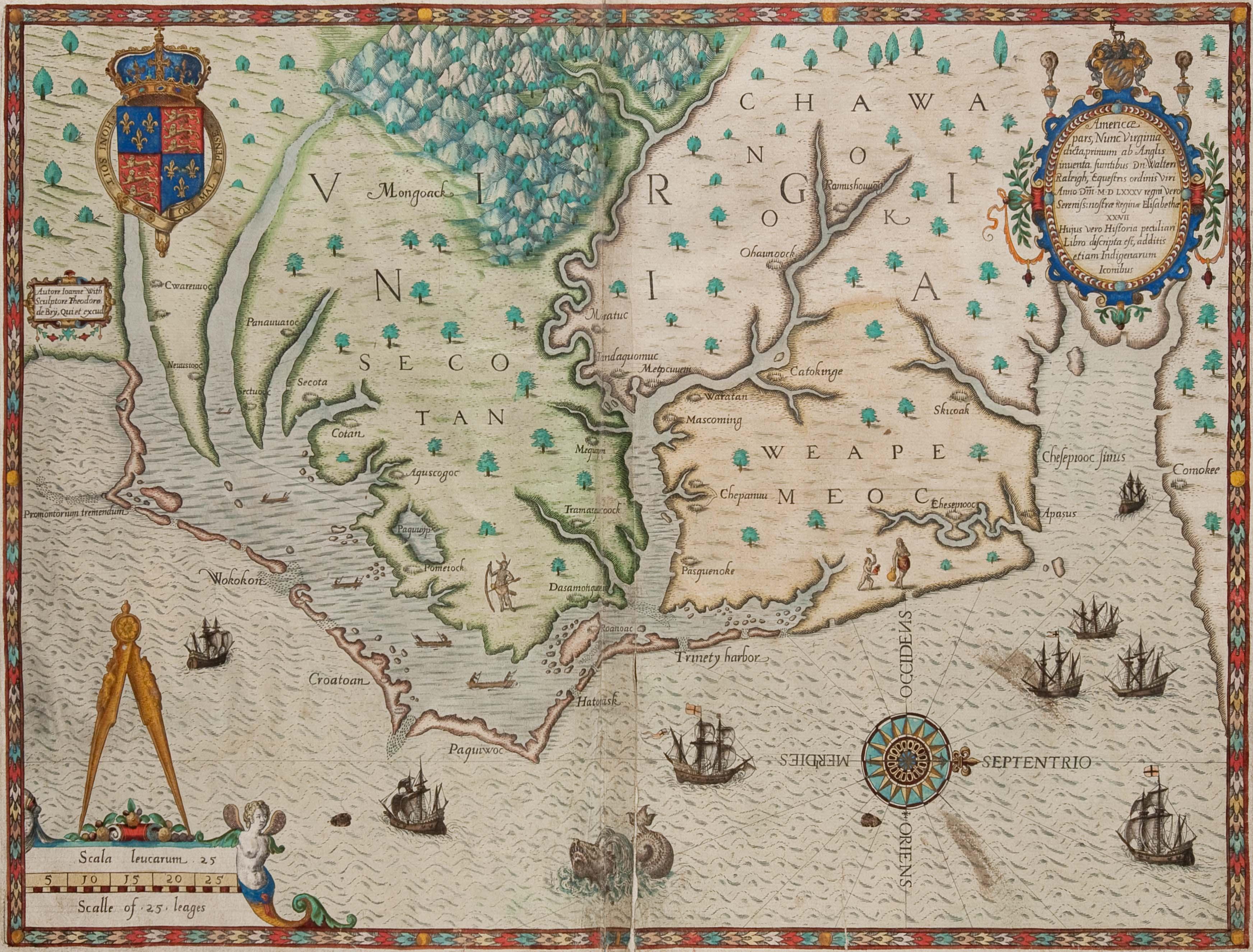 Colonial Williamsburg Acquires Early Virginia Maps - Virginia maps