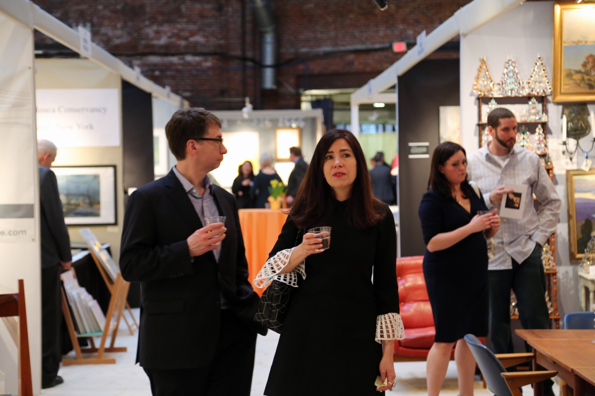 Designers, decorators, the young and the old all packed into the Cyclorama on Thursday night to enjoy the gala and see what this year's edition had to offer.