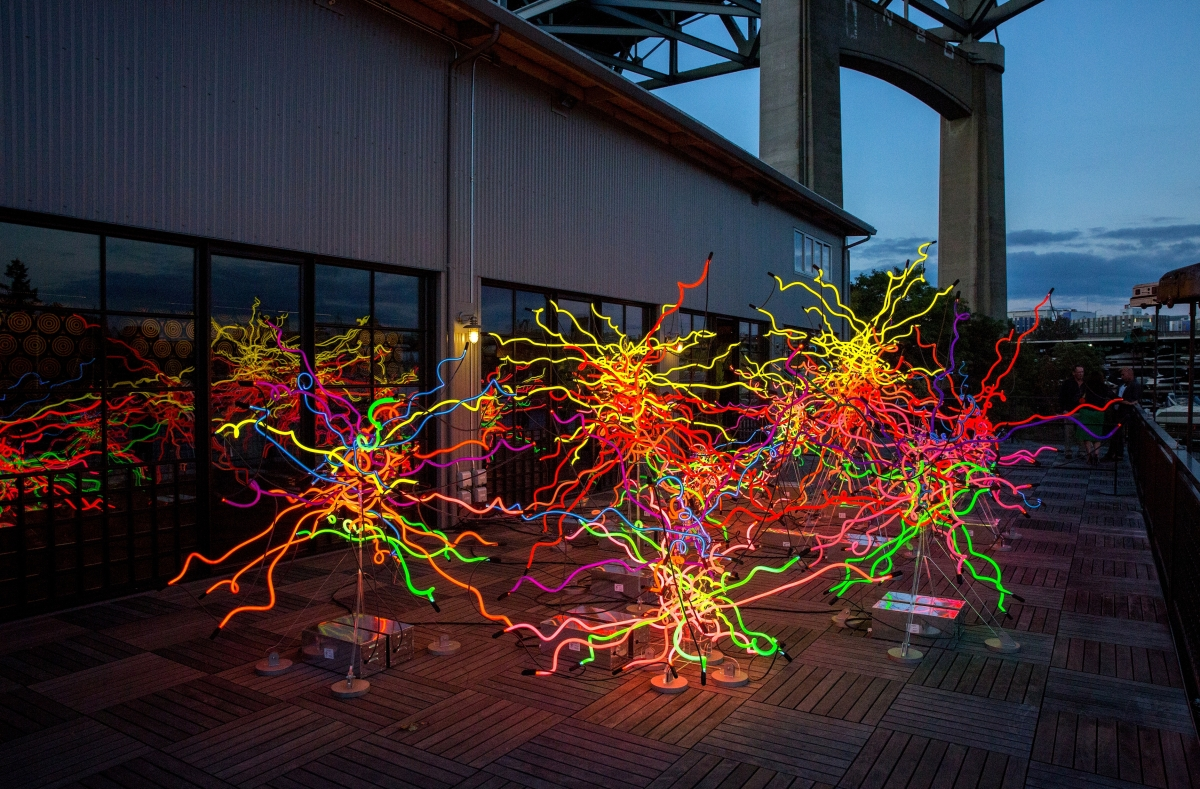 Dale Chihuly Exhibit To Open At Ny Botanical Garden April 22