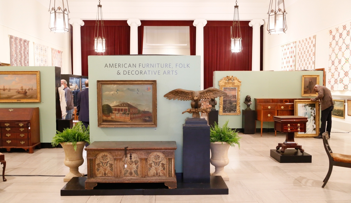 Influx Of New Bidders Seen At Freeman S Boutique American Sale