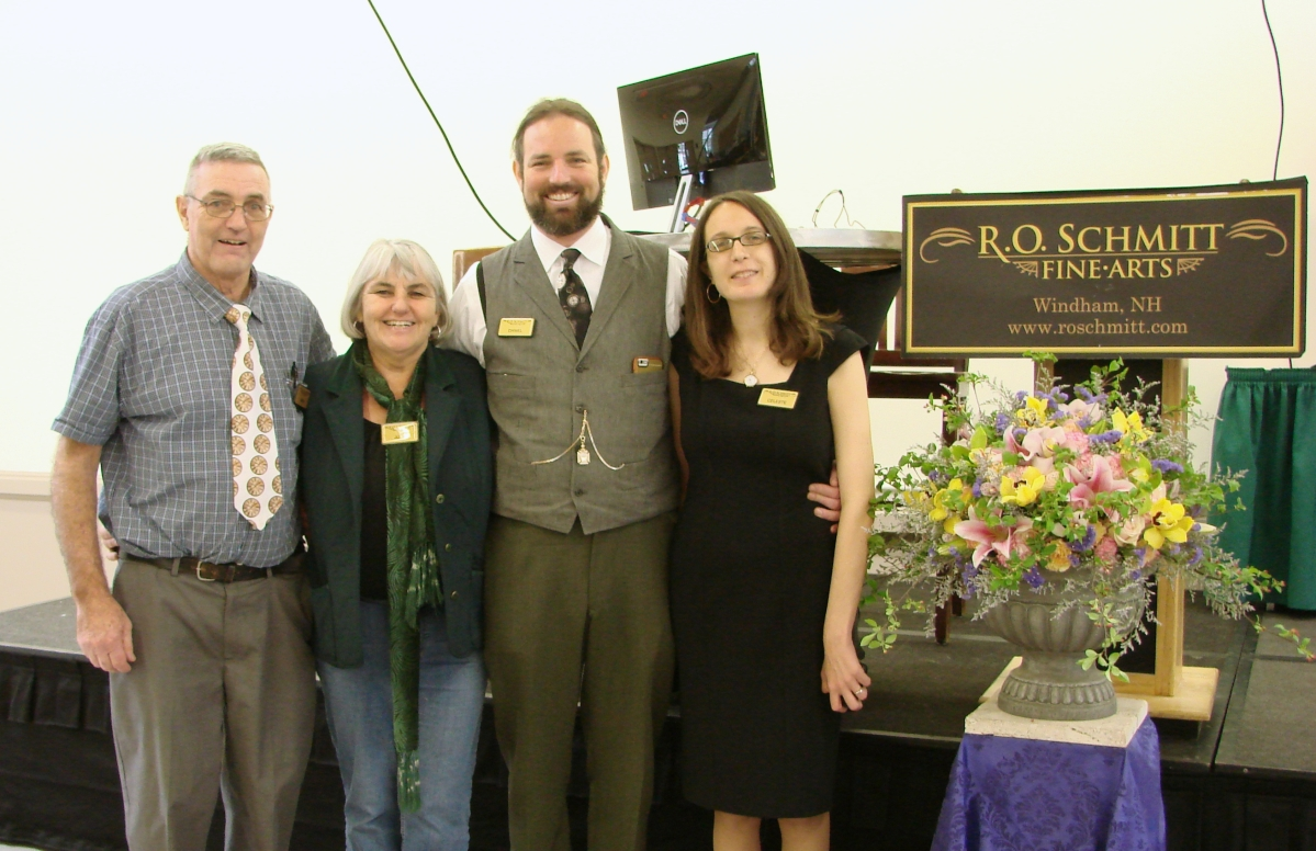 Dan Horan is the tall guy, second from the right, seen with his wife Celeste to his left and at far left is his father, Brian, next to his aunt, Julia.