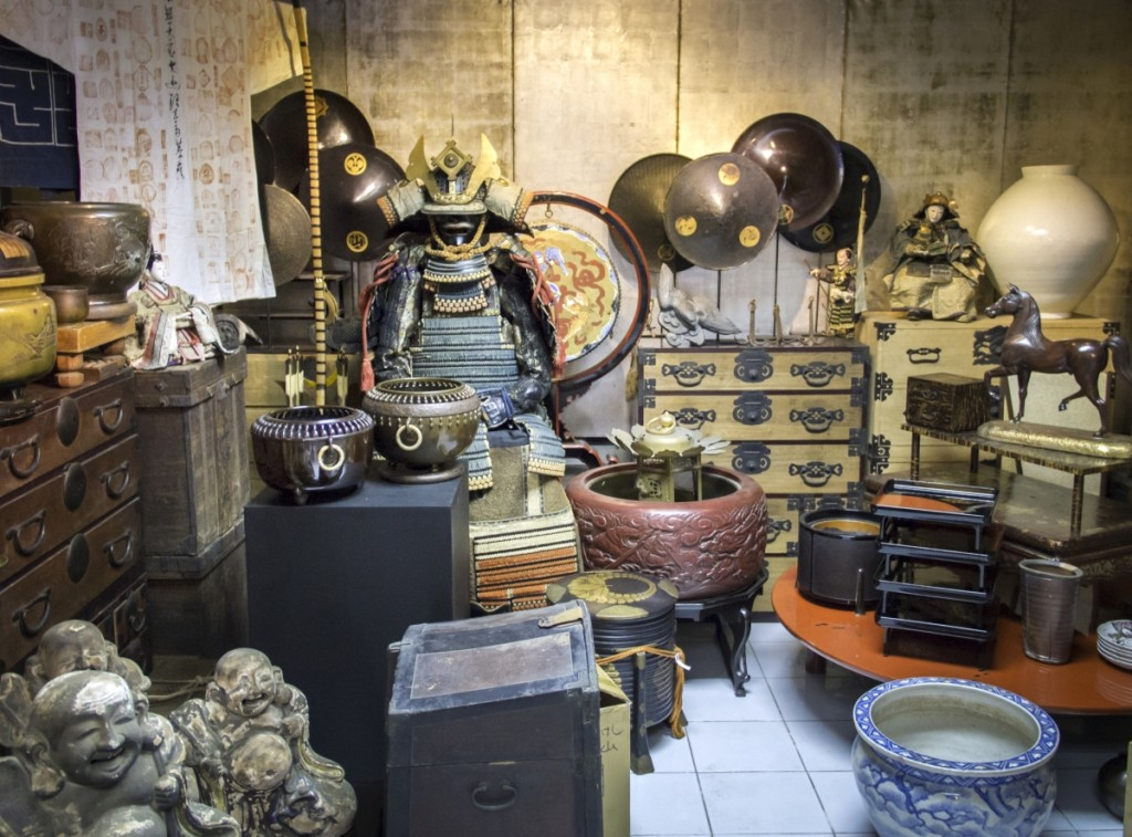 Antiques in Bangkok.