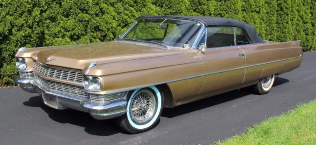 1964 Cadillac DeVille Converti    Auctions Online