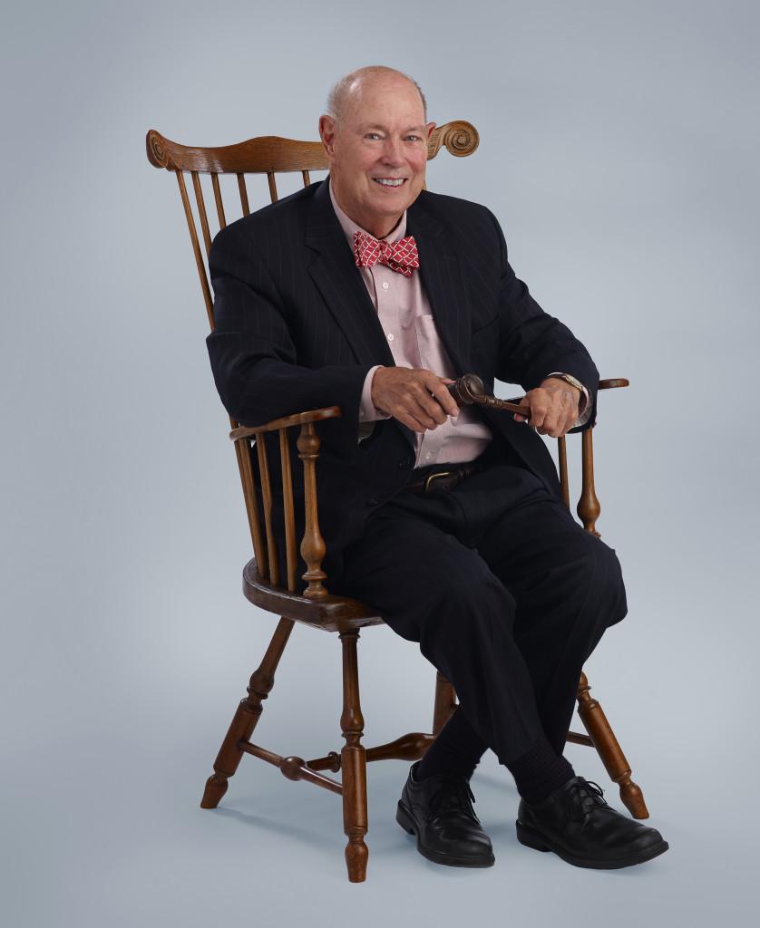 Beau in chair