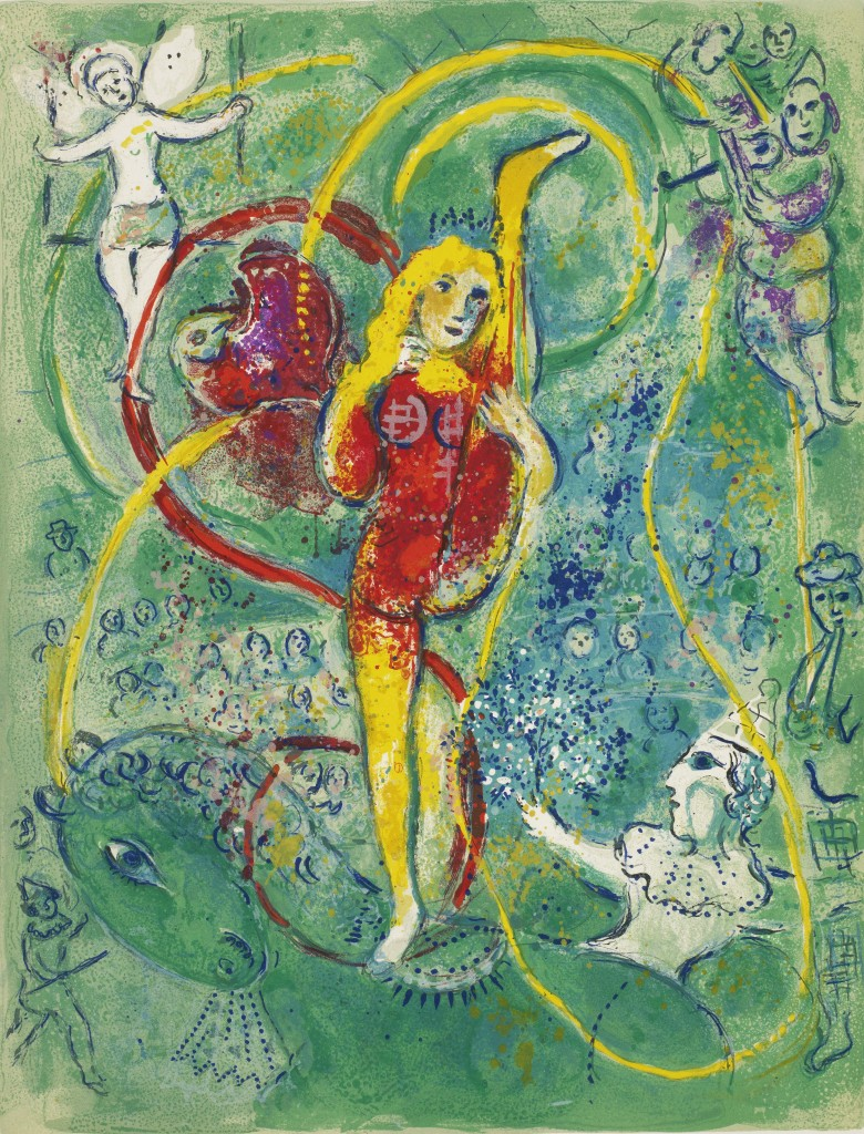 Chagall Cirque image one
