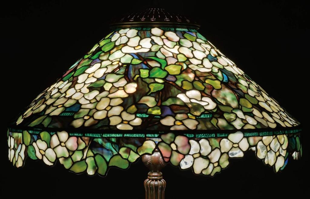 Julia's Dogwood Lamp