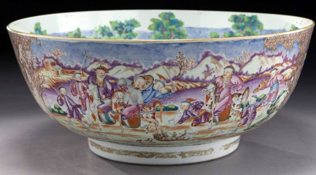 Dallas Auction Gallery Chinese Bowl