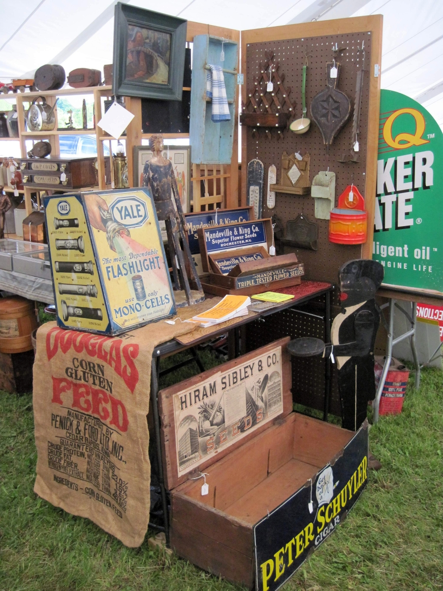 madison bouckville antique show