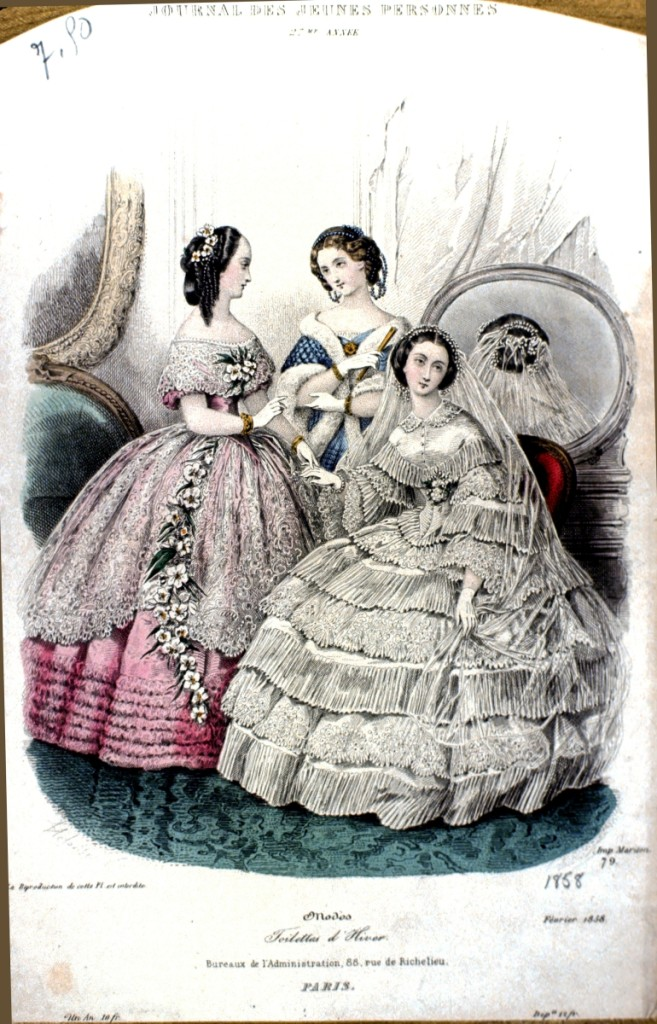 From Godey's Lady's Book; photography courtesy of June Burns Bové.