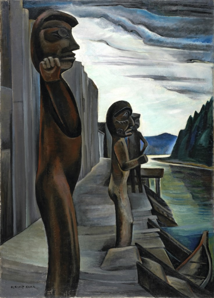 """Blunden Harbour"" by Emily Carr (1871–1945), circa 1930. Oil on canvas."