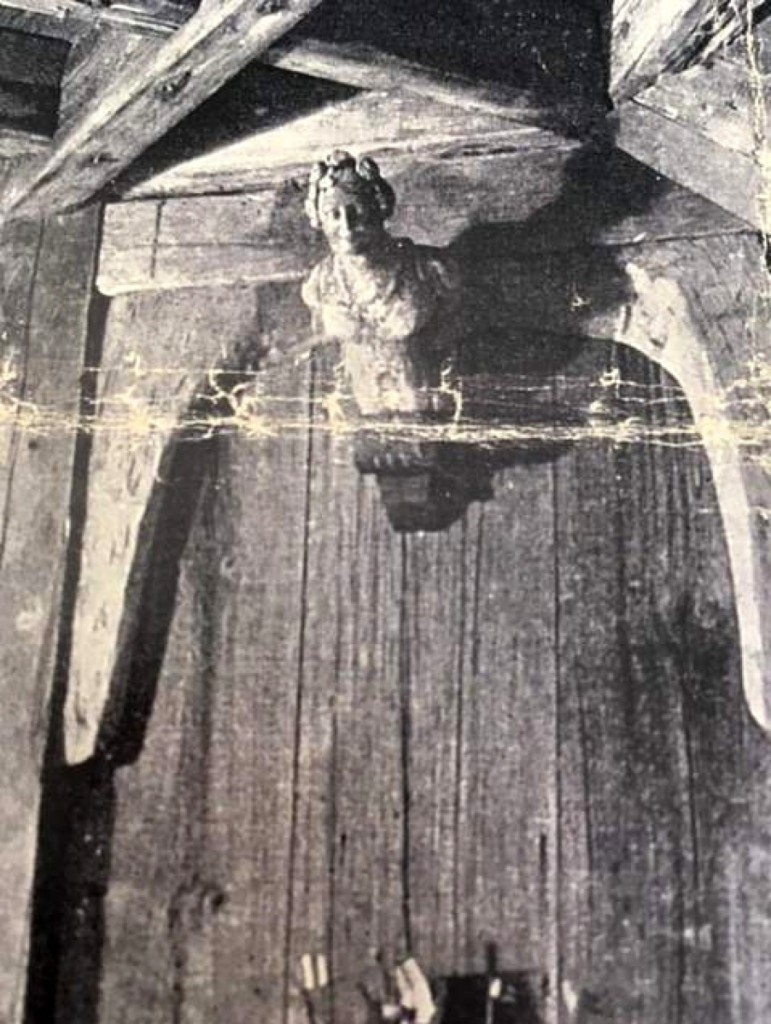 This photo of the ship's figurehead appeared in an article in the July 1932 House Beautiful magazine.