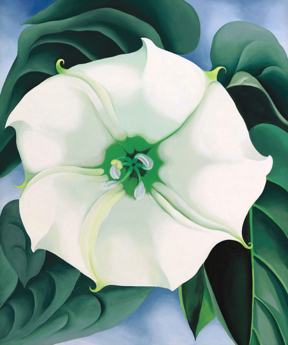 "From the Crystal Bridges collection, the 1932 painting ""Jimson Weed/White Flower No.1"" featured prominently in the recent retrospective ""Georgia O'Keeffe,"" jointly organized by the Tate Modern and the Art Gallery of Ontario. Sotheby's auctioned the oil on canvas for a record $44.4 million in 2014."