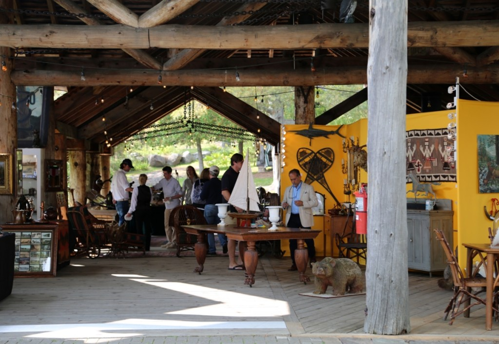 Some of the exhibitors were lucky enough to set up under the beautiful outbuildings at the museum.