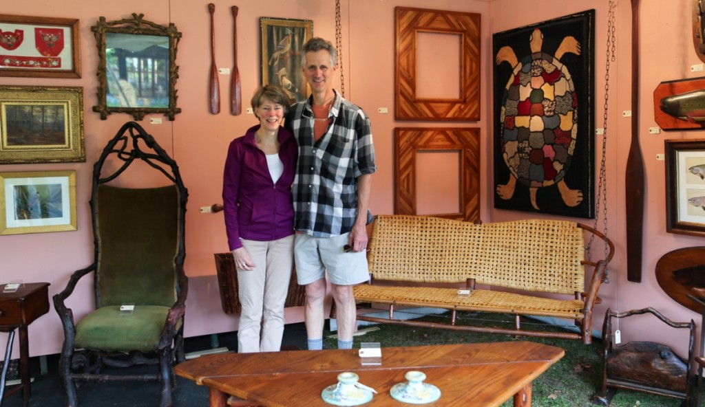 Kass Hogan and Jeff Cherry, Cherry Gallery, Damariscotta, Maine
