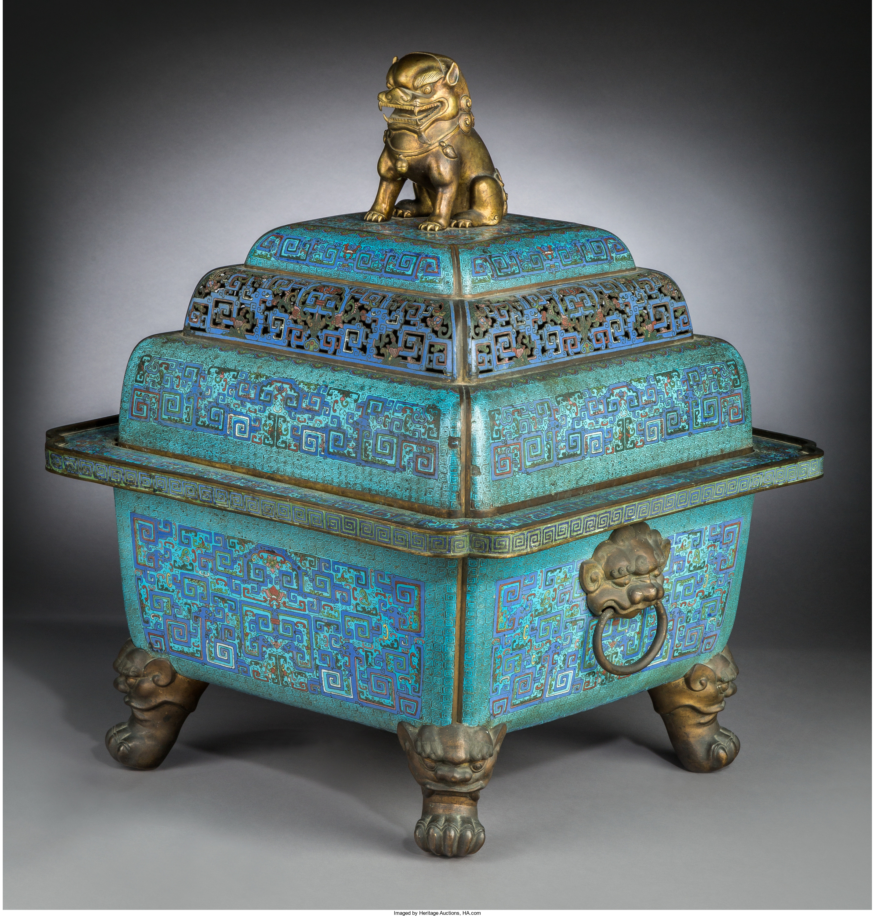 imperial censer at heritage asian art auction sept 12