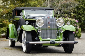"Achieving one of the top numbers, $577,500, of the day was lot 143, a 1931 Cadillac V-16 Lancefield Convertible Victoria with coachwork by Lancefield of England. This car was owned by the same family for more than 60 years before coming to the United States in the 1990s. It was then that the car underwent a full restoration and was finished in a two-tone black and green. According to the catalog, ""This car represents an opportunity to own a unique piece of automotive history""."