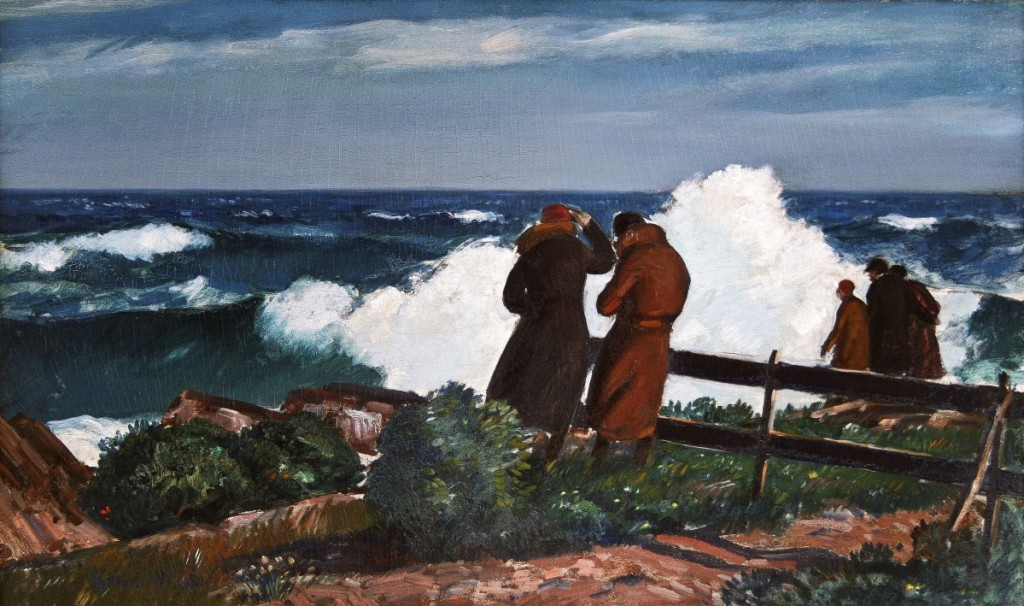 """Northeaster # 2, Bass Rocks,"" Gifford Beal (1879–1956), 1930s, oil on canvas, private collection."