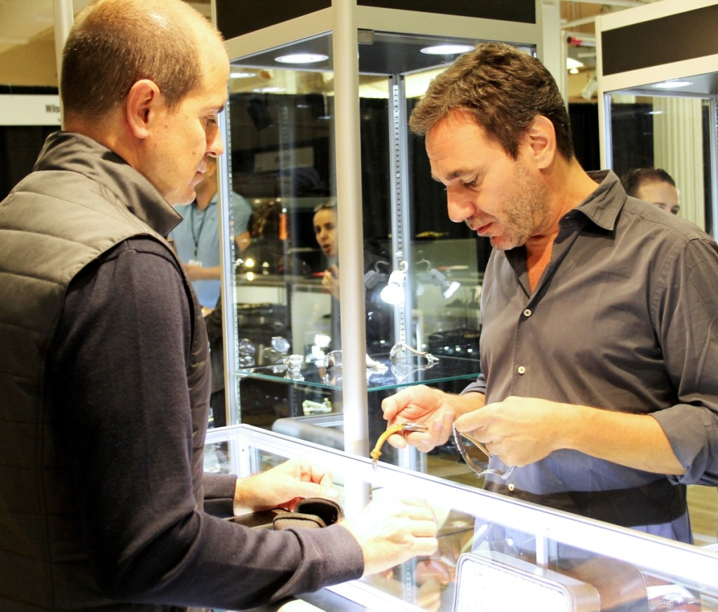 Onlyvintage, a watch dealer from Monaco, did steady business.