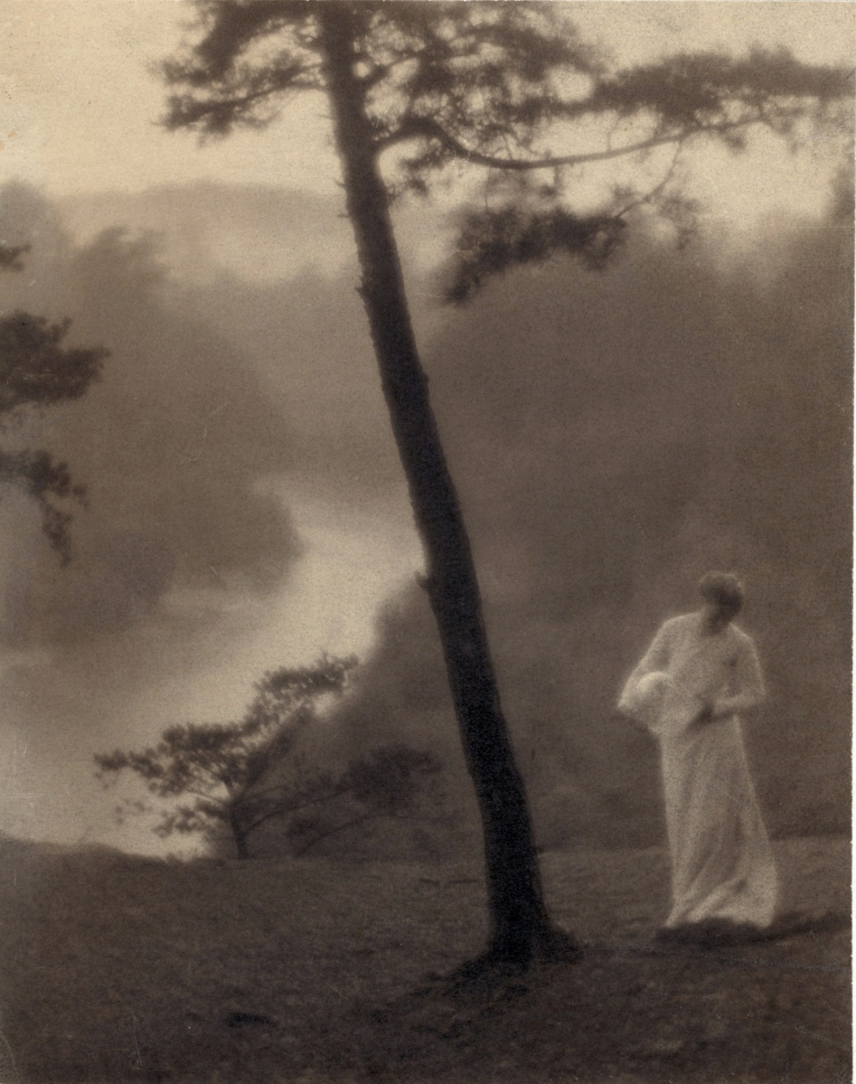"""Morning,"" 1905, printed after 1917, gum bichromate on palladium print. Library of Congress. Purchase, 1926 (PH — White (C.), no. 30, A size)."