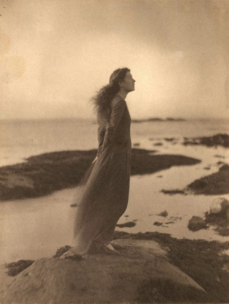 """The Sea (Rose Pastor Stokes, Caritas Island, Connecticut),"" 1909, printed after 1917, palladium print."