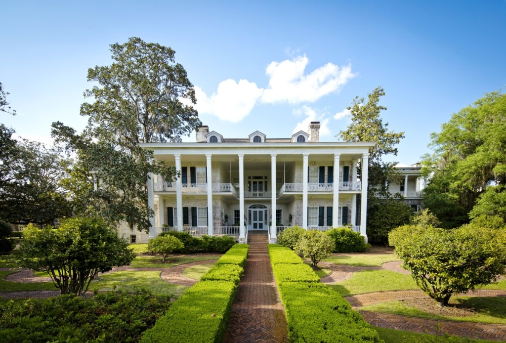 The main house at Pebble Hill Plantation, completed in 1936, was designed by architect Abram Garfield (1872–1958), youngest son of President James Garfield.