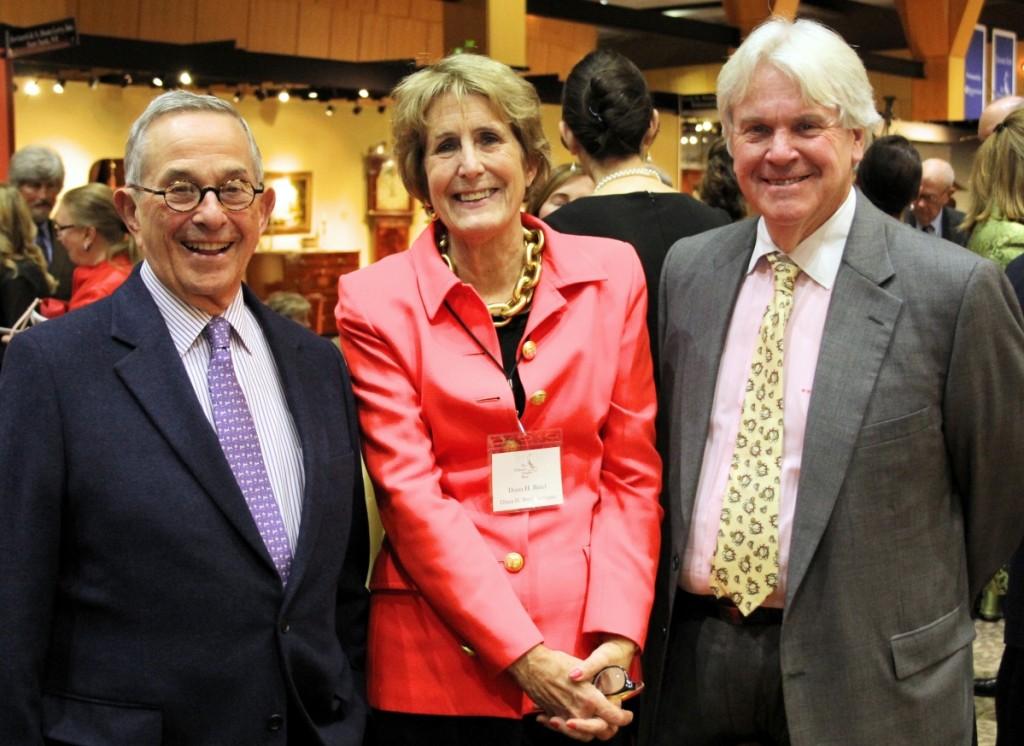 Stuart Feld, Diana Bittel and Bill Stahl.