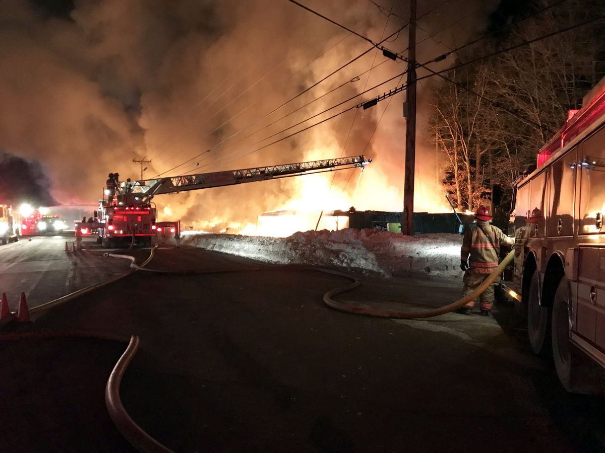 Knotty Pine Fire Foley Photo