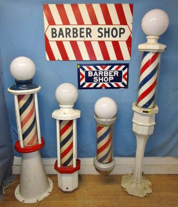 Round-Up Ingraham Barber Poles