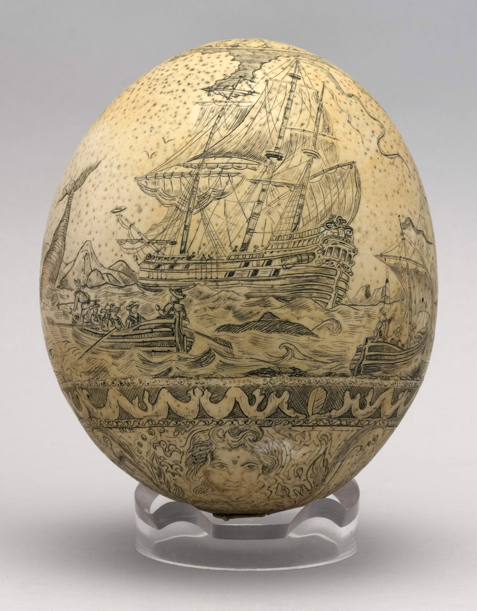 AB Eldred's Ostrich Egg