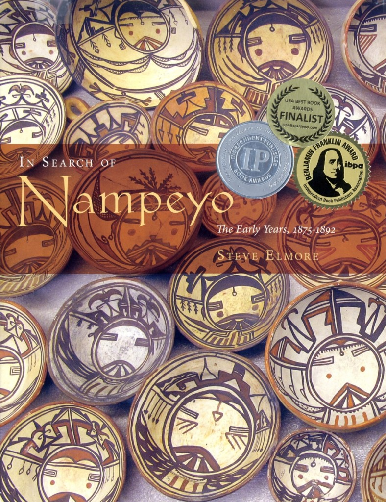 In his book, Elmore attributes to Nampeyo   Nineteenth Century Hopi pottery in the Keam Collection at Harvard's Peabody Museum of Archaeology and Ethnology.